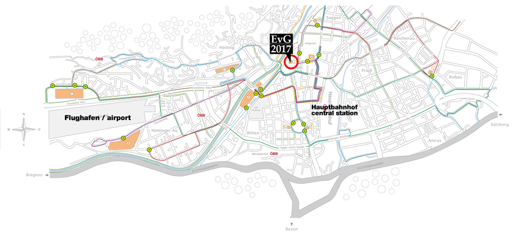 Karte: Universität Innsbruck