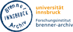 Logo Forschungsinstitut Brenner-Archiv