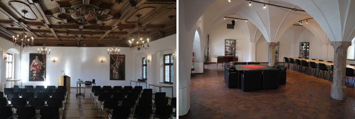 Claudiasaal und Türingsaal, Claudiana